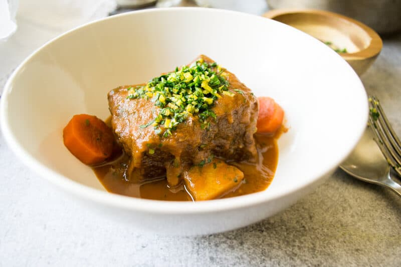 Chestnut Braised Beef