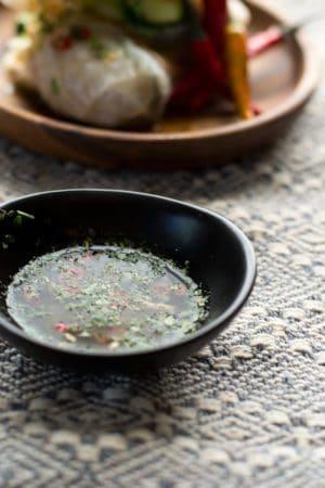 Nước chấm vietnamese dipping sauce