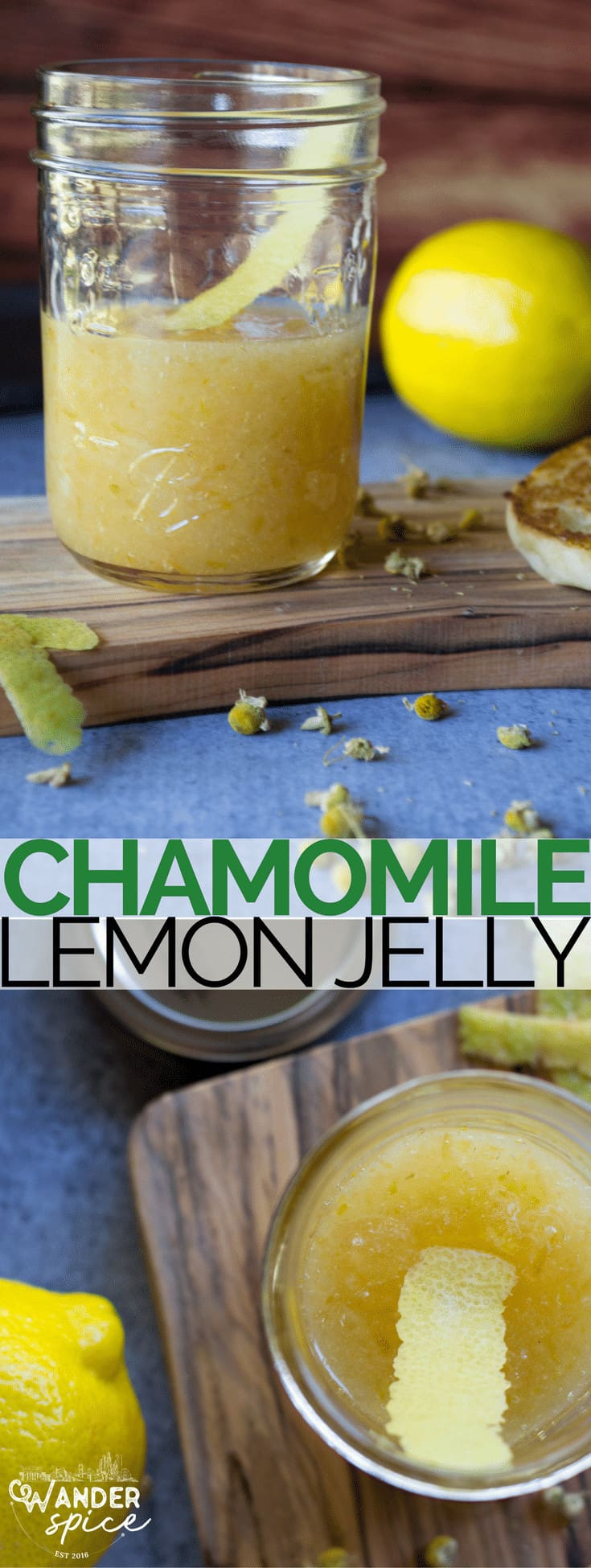 Lemon Jelly with Chamomile