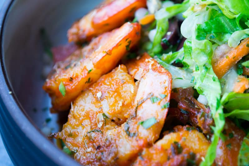 Moroccan Salad Shrimp