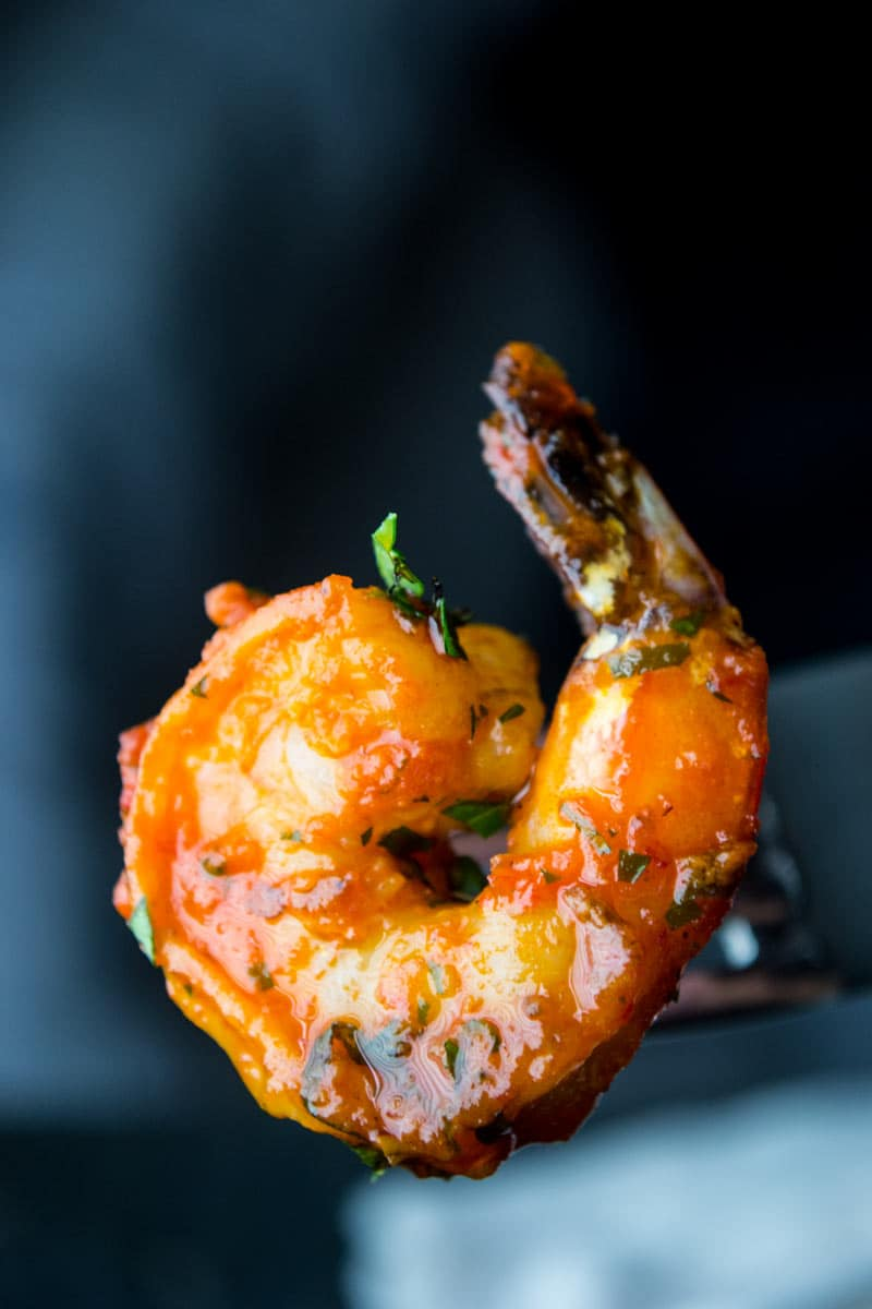 Moroccan Salad Harissa Shrimp