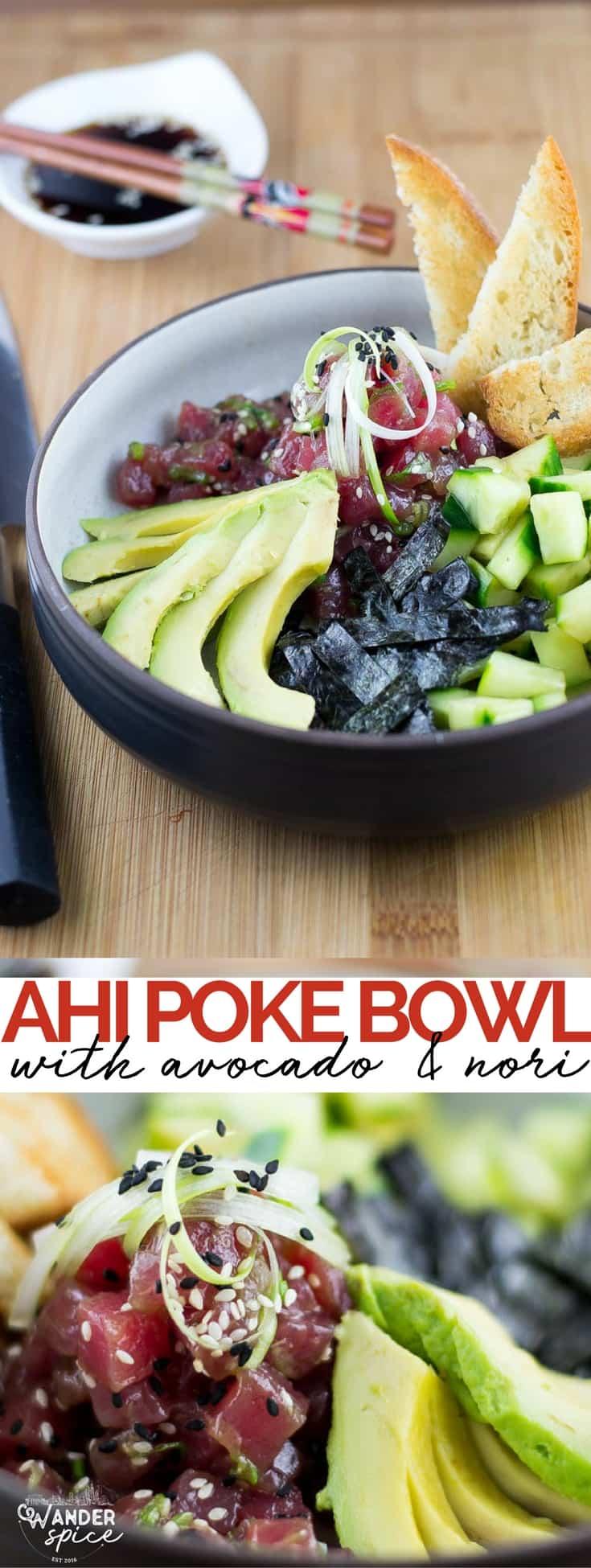 Ahi Poke Bowl Pin