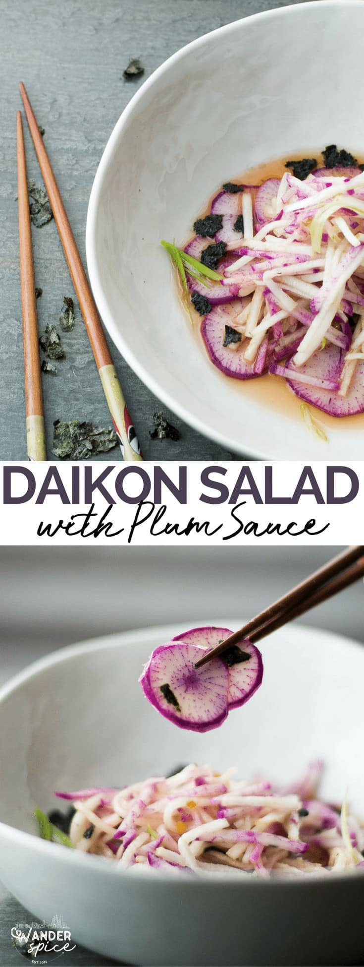 Daikon Salad Pin