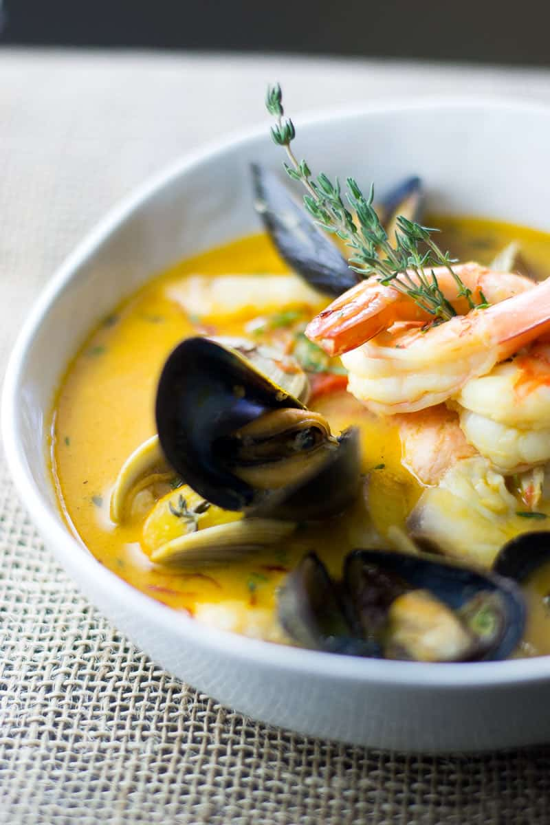 Bouillabaisse Recipe with Salmon