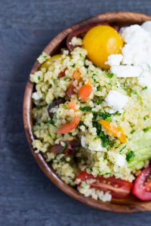 tabbouleh salad with dates