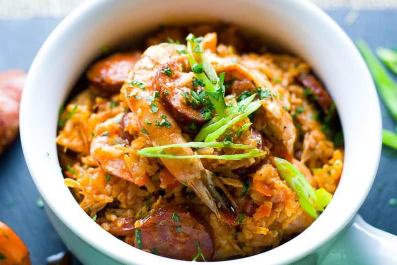 authentic Creole jambalaya