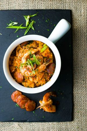 creole jambalaya sausage and shrimp