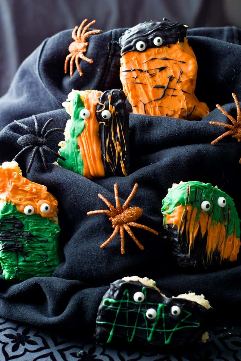 rice krispie treats halloween 1