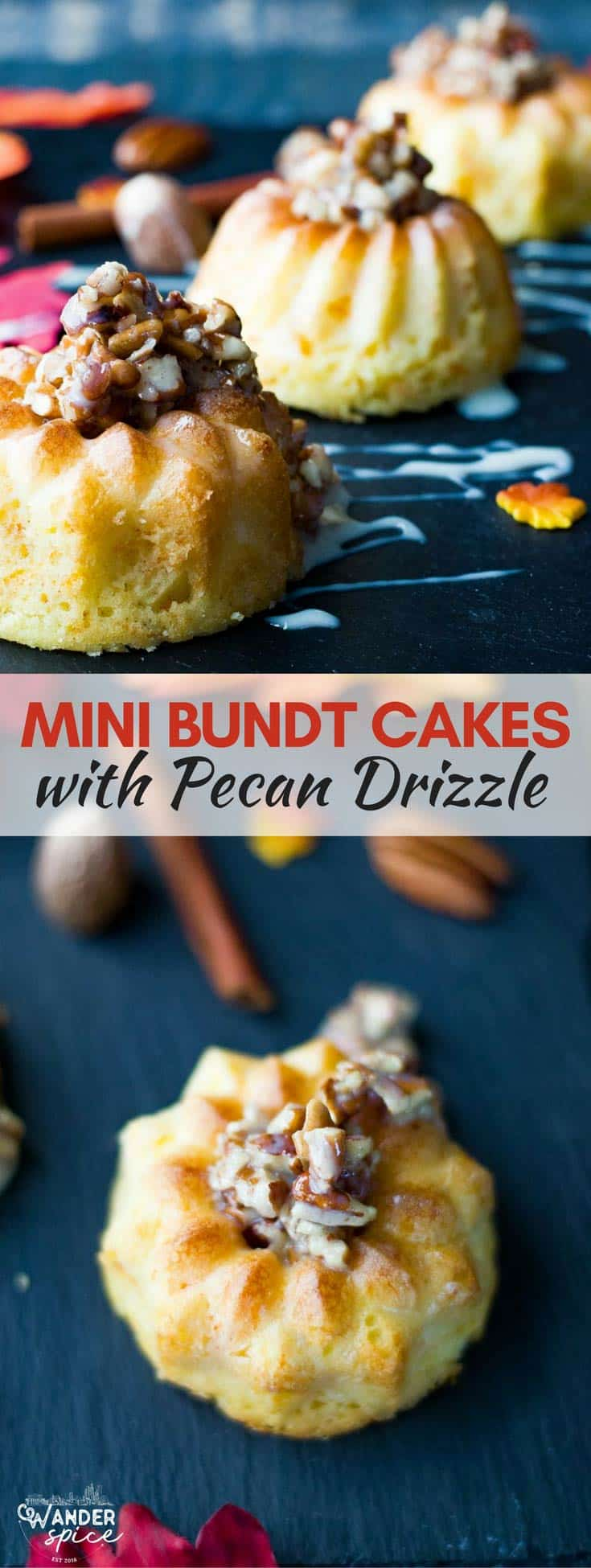 Easy-Bundt-Cake-Recipe-with-Pecans---Mini-Bundts