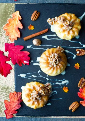 Mini Carrot Bundt Cake Recipe