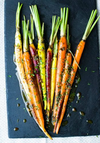 Roasted Brown Sugar Carrots