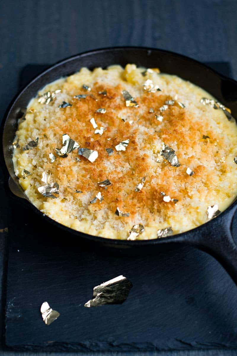 Golden Macaroni and Cheese, homemade and easy