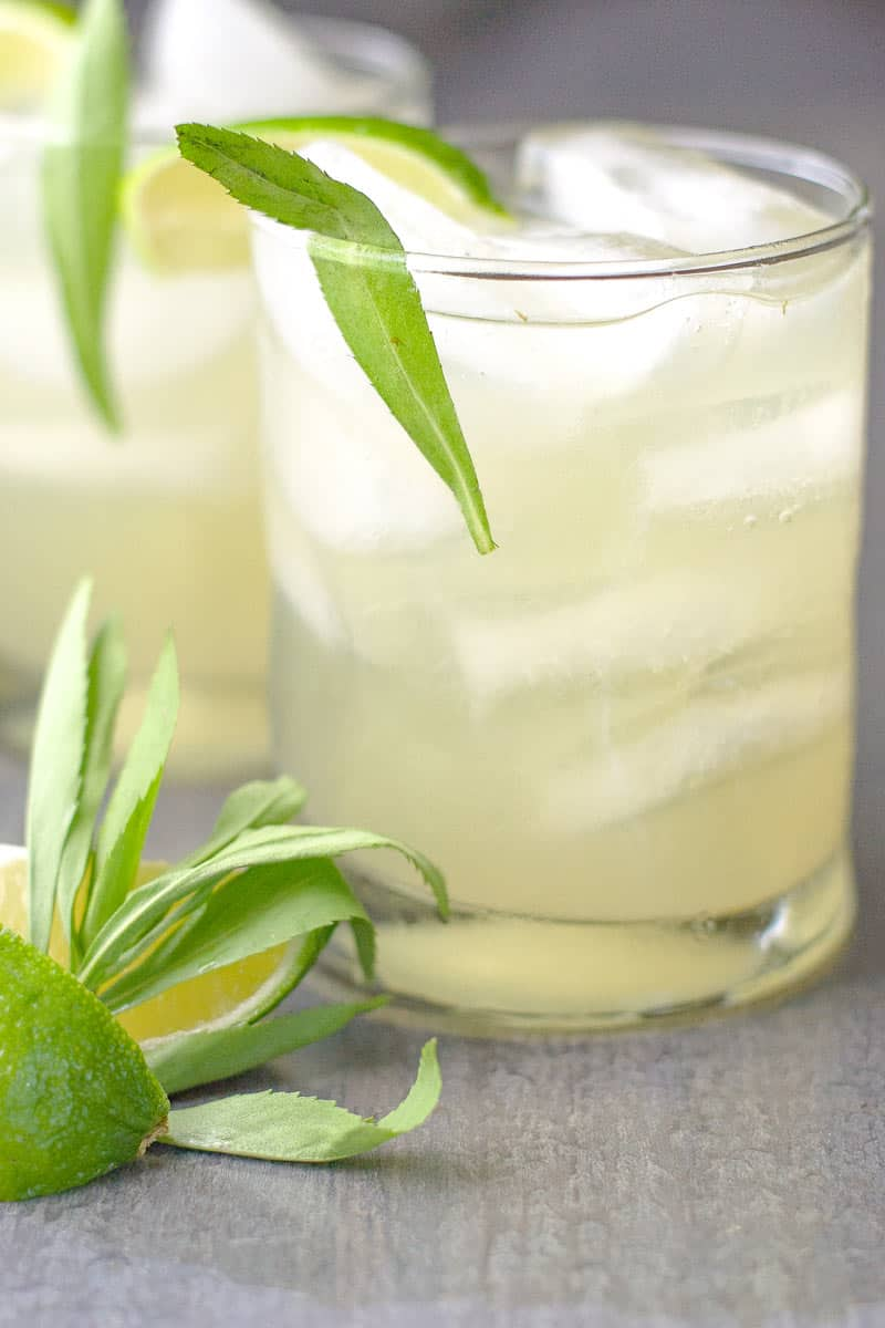 Limonada with tarragon
