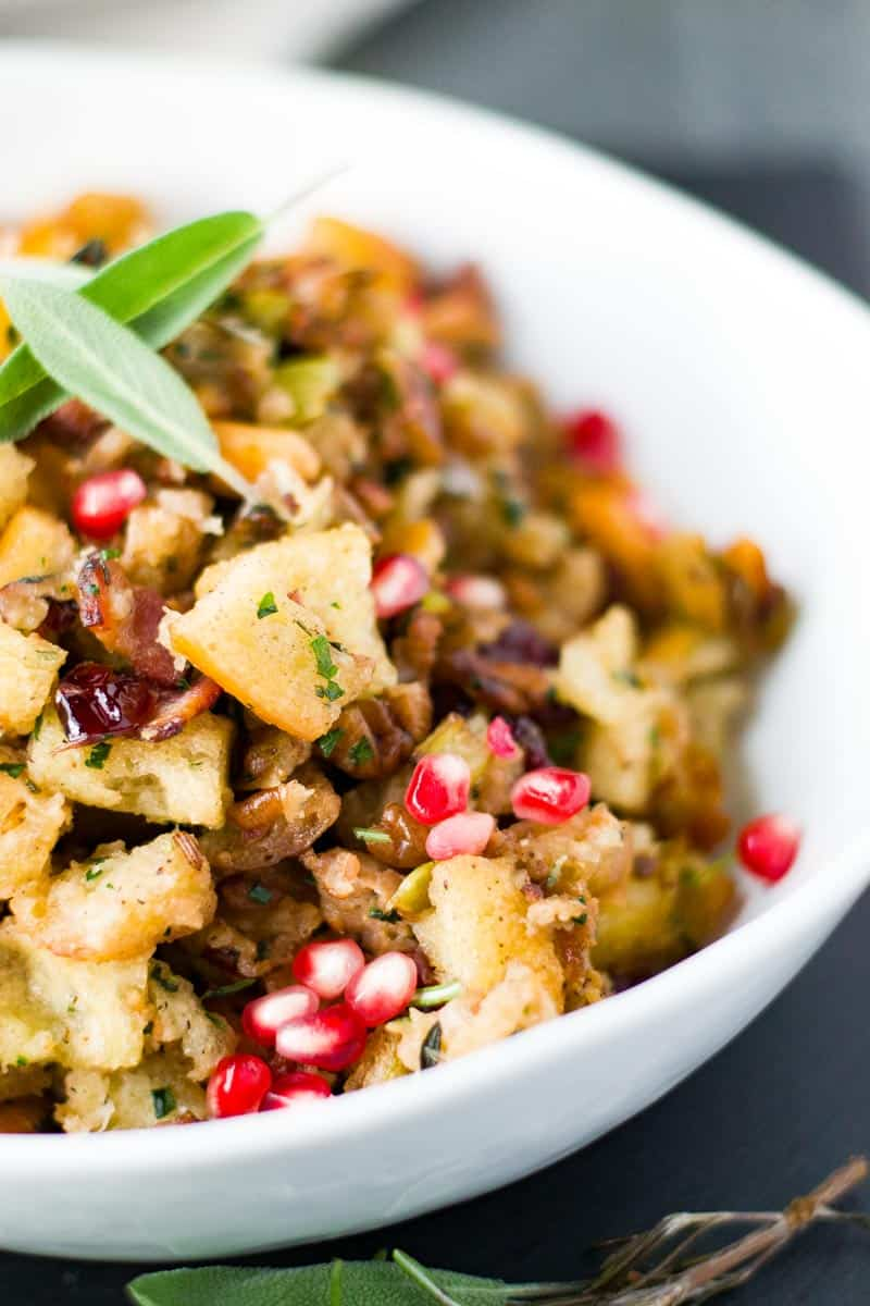 Sausage Stuffing with Bacon recipe