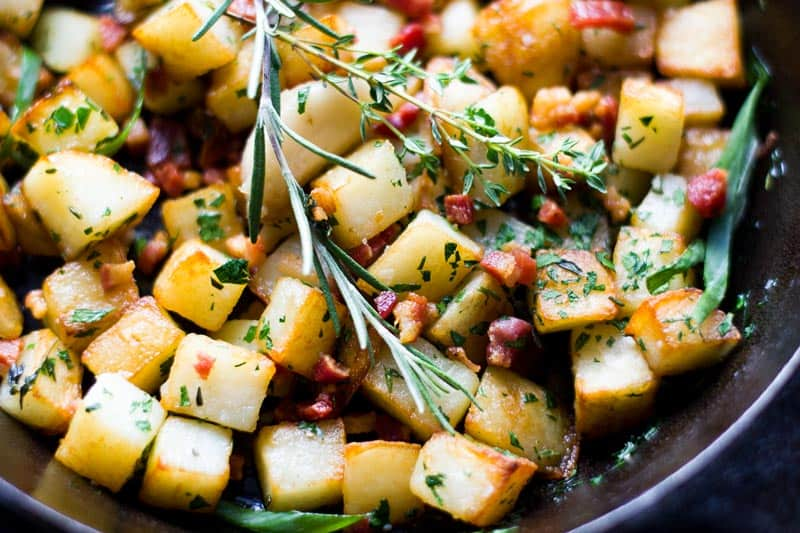 herbed breakfast potatoes