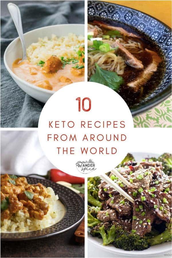 Keto recipes from around the world. Easy ketogenic dinners. Perfect for beginners, too.