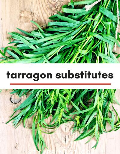 tarragon substitutes