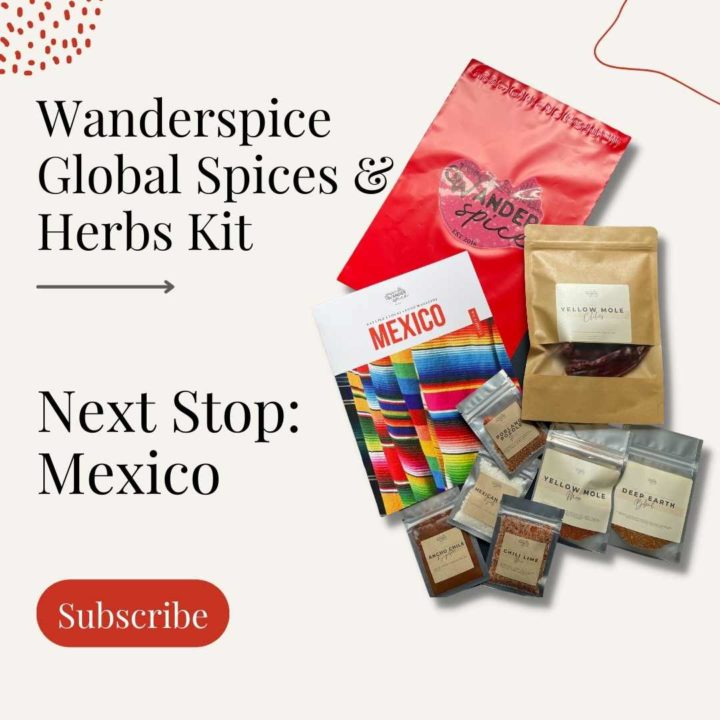 Wanderspice Spice Subscription Kit promotion graphic